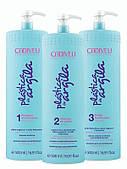 CADIVEU Plastica de Argila Набор для процедуры ботекса для волос  3х500 мл