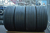 Летние шины б/у 225/40 R18 Continental, комплект, 5 мм