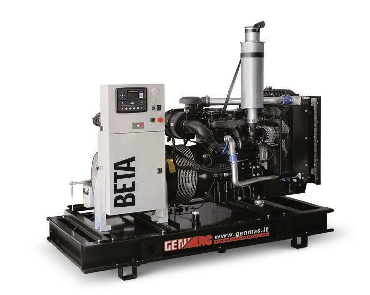 Дизельный генератор Genmac Beta G60 IO (48 кВт)