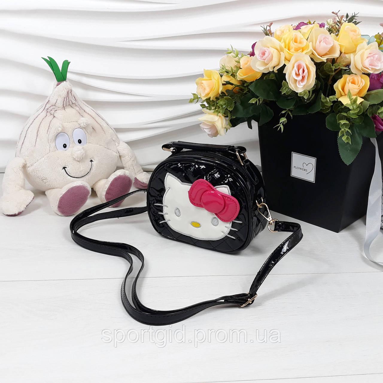 56bcd8f5943c Лаковая сумочка с бантиком для девочек Hello Kitty - Интернет магазин  ShopoVik в Запорожье