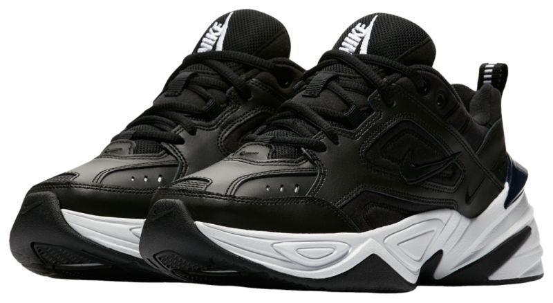 Женские кроссовки в стиле найк M2K Tekno Black & White