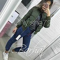 Женская модная демисезонная куртка Новинка 2019