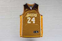 Мужская баскетбольная майка Los Angeles Lakers Fashion (Kobe Bryant) Yellow, фото 1