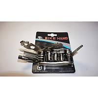 Набор ключей для велосипеда (шестигранники с насадками) BIKE HAND