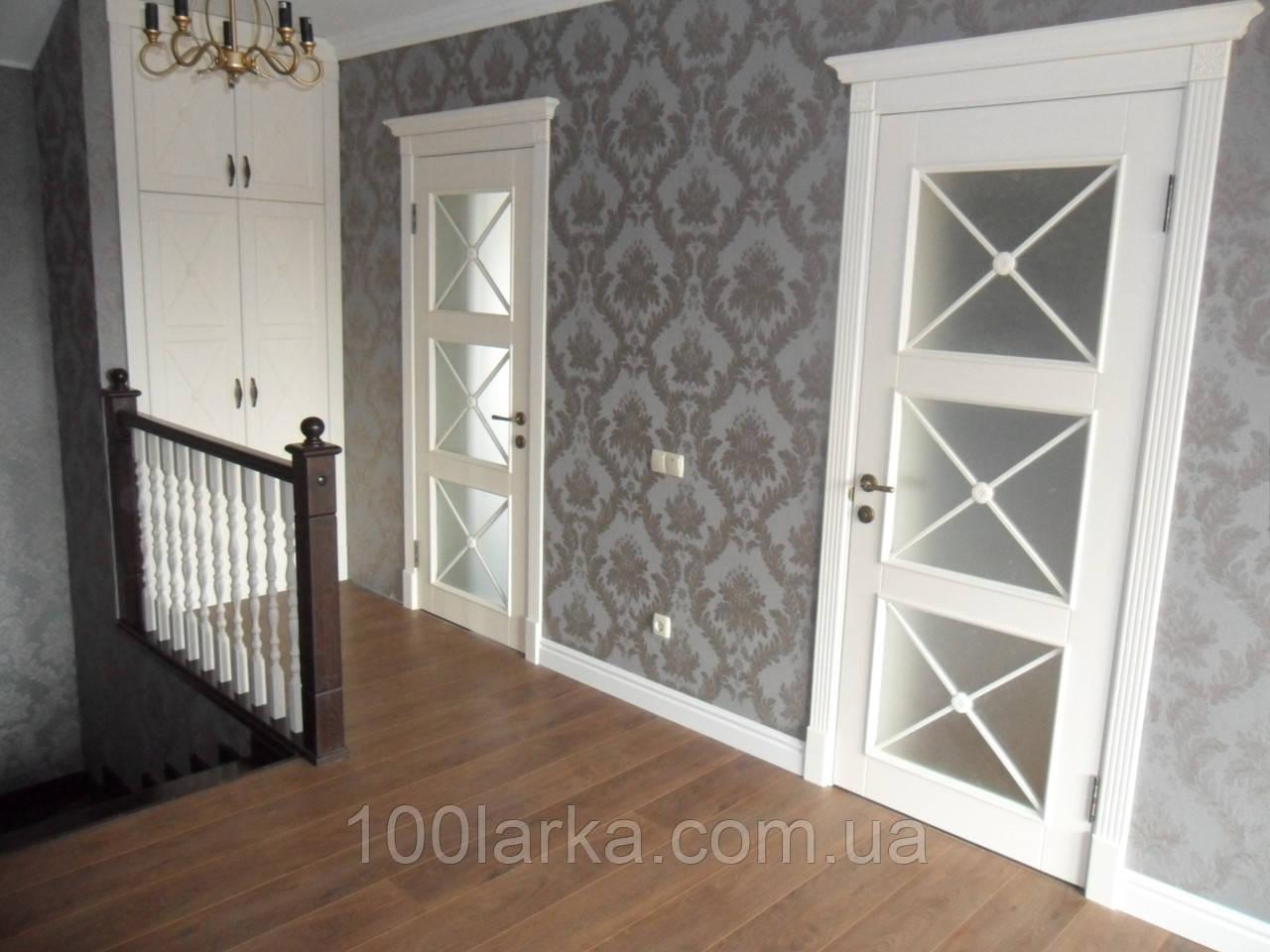 Міжкімнатні двері дерев'яні ясен