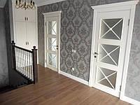 Міжкімнатні двері дерев'яні ясен, фото 1