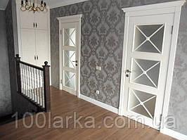 Межкомнатные двери деревянные ясень