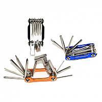 Набор ключей  для велосипеда (вижимка цепи, шестиграники)