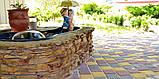 Тротуарная плитка «Носталит», коричневый, 60 мм, заводское качество, фото 4
