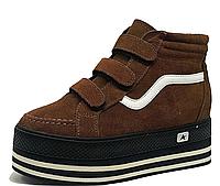 Женские демисезонные кроссовки без шнурков 37 размер (23.5см)