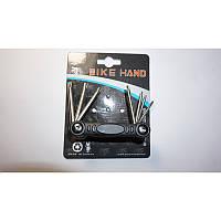 Велосипедный набор ключей (фигурная отвертка в размерах) модель 282, BIKE HAND