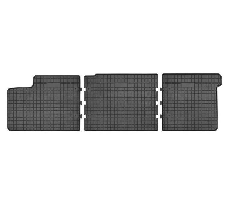 Резиновые коврики в салон FROGUM второй ряд VW T5 2003-2015, WV T6 2015 ->