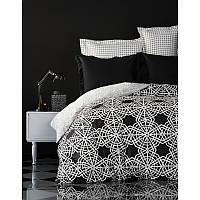 Karaca Home Creantes siyah евро комплект  постельного белья