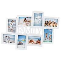 """Мультирамка """"Family"""" для 8 фотографий"""