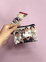 Кошелёк детский для монет One Direction фирмы Claire's