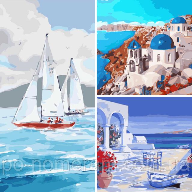 картины Идейка корабли и море