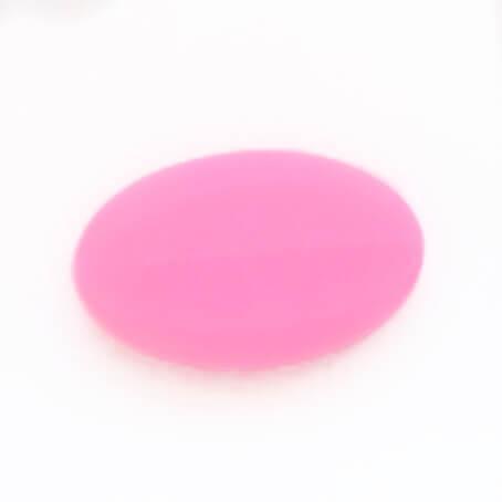 Овал (розовый) фурнитура для именных держателей