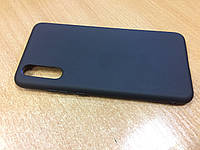 Силиконовый чехол для Huawei P20 (черный)