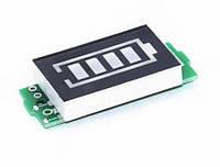 Модуль индикатора емкости Li-ion аккумуляторов 1S 3.7-4.2V