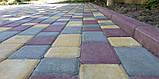Тротуарная плитка «Носталит», желтый, 80 мм, заводское качество, фото 3