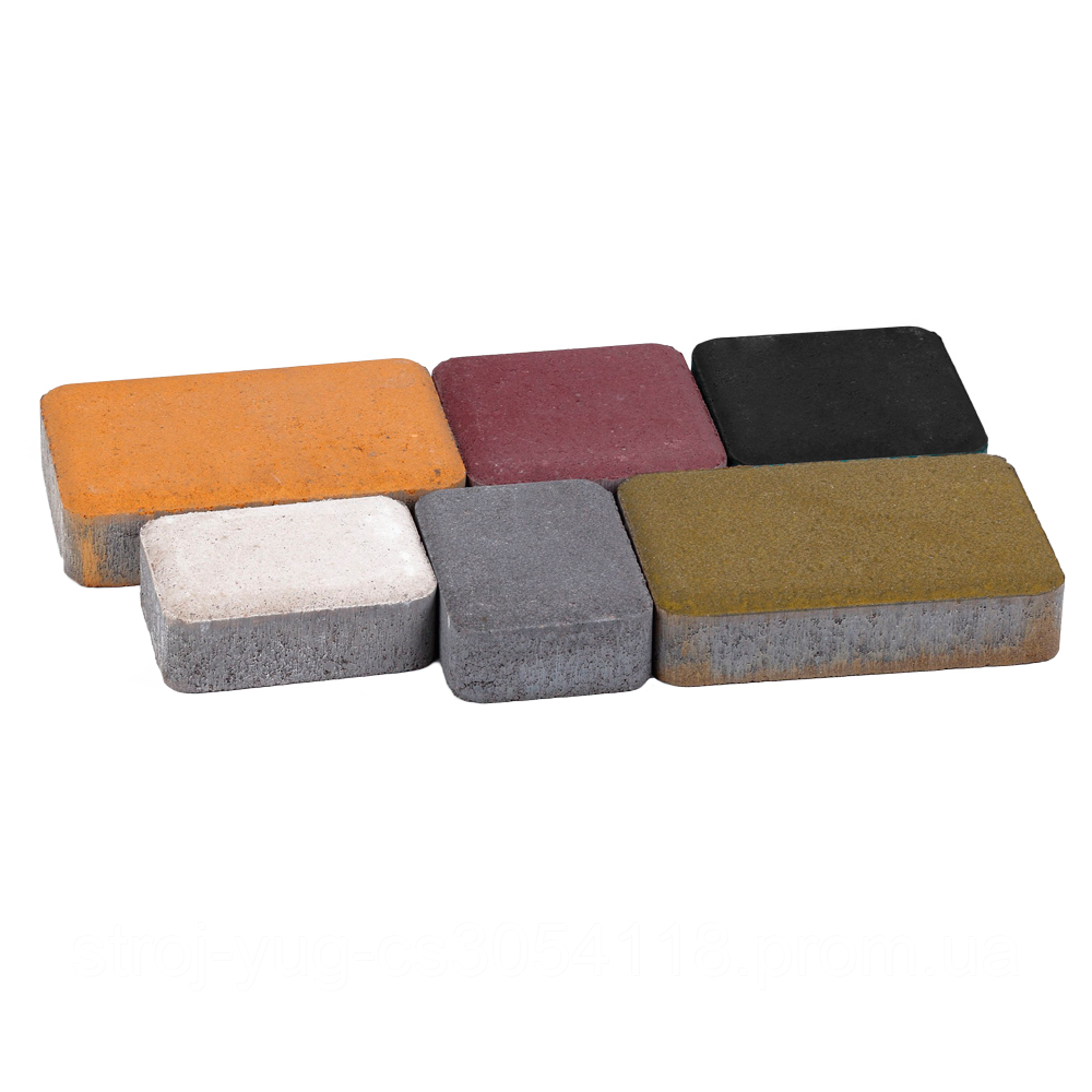 Тротуарная плитка «Носталит», серый, 80 мм, заводское качество