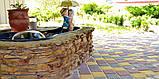 Тротуарная плитка «Носталит», серый, 80 мм, заводское качество, фото 4