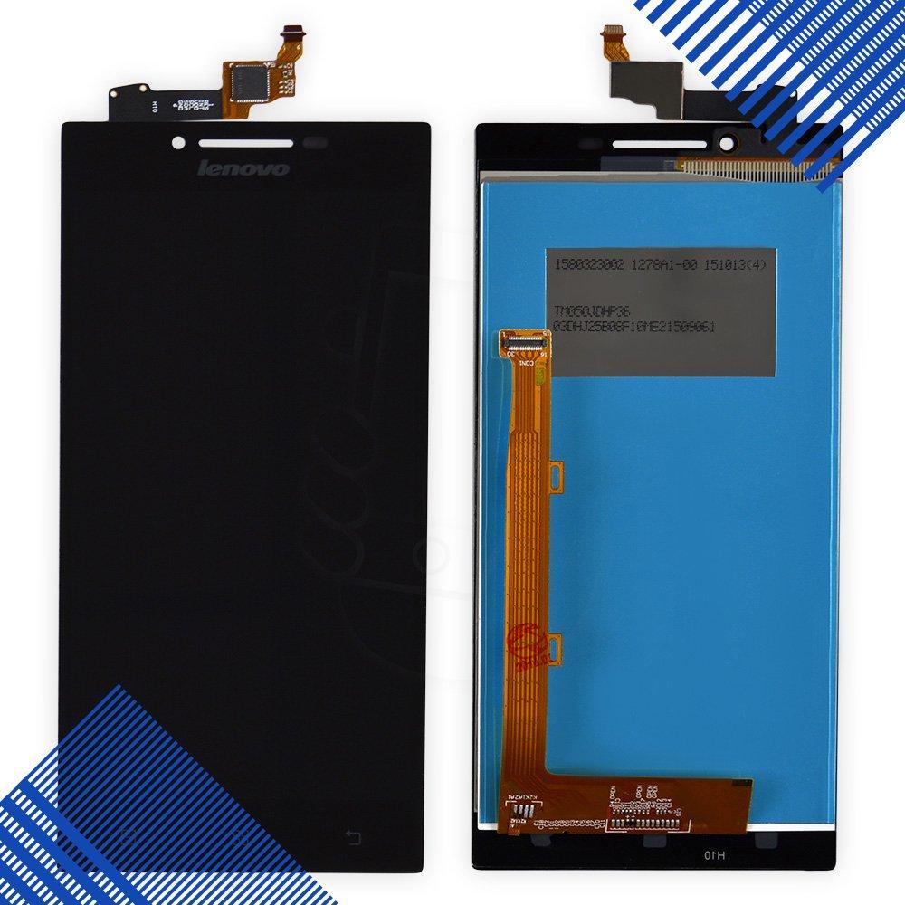 Дисплей Lenovo P70 с тачскрином в сборе, цвет черный, уценка