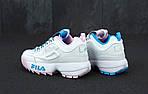 Кроссовки Fila Disruptor II, сиреневые, фото 5
