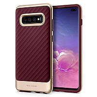 Чехол Spigen для Samsung Galaxy S10 Plus Neo Hybrid, Burgundy (606CS25775), фото 1