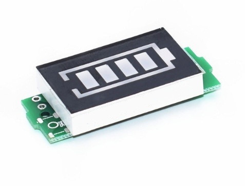 Модуль индикатора емкости Li-ion аккумуляторов 3S 11.1-12.6V
