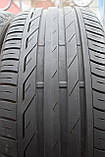 Летние шины б/у 245/45 R18 Bridgestone Turanza, пара, 6 мм, фото 3