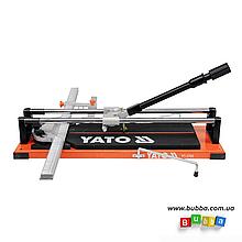 Плиткорез ручной L-400мм Yato YT-3700