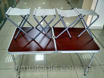 Стол складной для пикника + 6 стульев