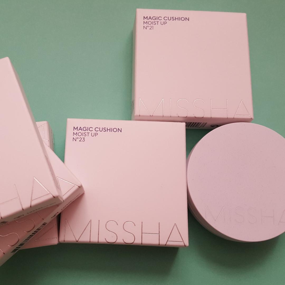 Увлажняющий кушон Missha  Magic Cushion Moist up SPF50PA, 15g