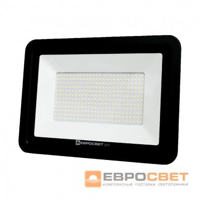 Прожектор светодиодный ЕВРОСВЕТ 200Вт 6400К EV-200-504 PRO 18000Лм  , фото 1