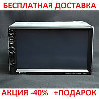 Автомобильная магнитола 2 DIN GSX-3114 7-дюймовый TFT-LCD дисплей Медиа-центр кнопочное управление, фото 1