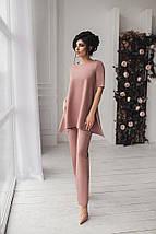 Нарядный женский костюм двойка брюки с туникой /разные цвета, 42-54р., sh-001/, фото 3