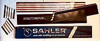 Молдинг двери Sahler  широкий на ВАЗ 2109 Самара  SH100