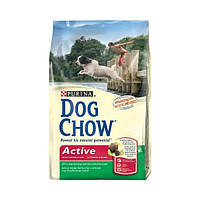 Dog Chow Active Adult сухой корм для собак  с курицей - 14 кг