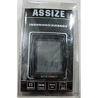 Велоспидометр ASSIZE AS401 (11 функций,Тайвань)