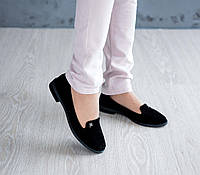 Женские замшевые туфли, фото 1