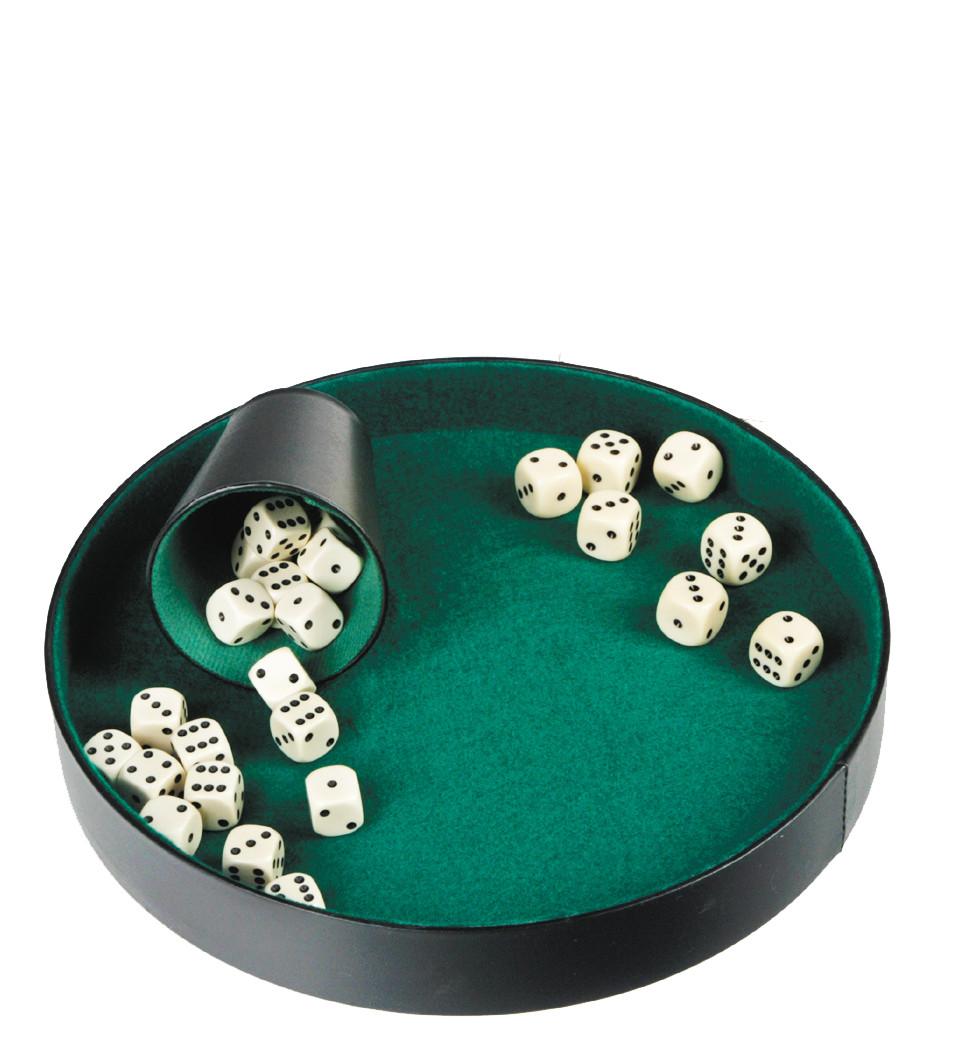 Лоток для кидання кубиків бархат dice tray