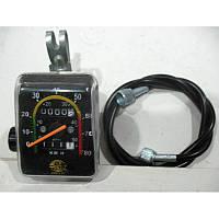 Велоспидометр механический  (модель 092, 2 функции)