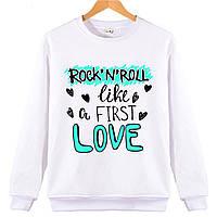 Джемпер ROCK 'N' ROLL LOVE женский белый