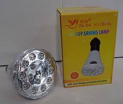 Лампа світлодіодна енергозберігаюча з акумулятором 1895L Yajia