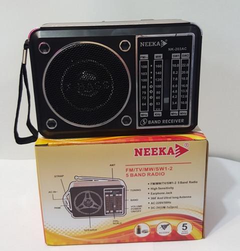 """Радиоприемник колонка """"NEEKA"""" NK-203AC"""