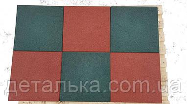 Резиновая плитка 400*400 мм. толщина 10 мм. , фото 3