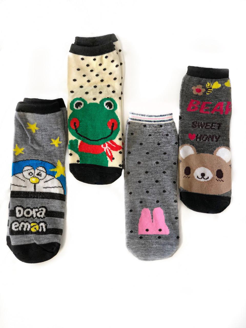 Детские носочки демисезонные с ярким рисунком