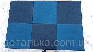 Гумова плитка 400*400 мм. товщина 10 мм, фото 3