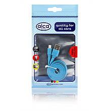 Кабель для зарядки гаджетів Lightning USB 2.0 ALCA 510 740 синій